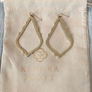 Kendra Scott Sophie earrings gold